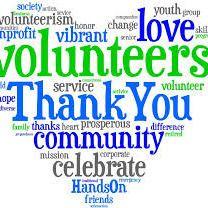 Volunteer Thank You image