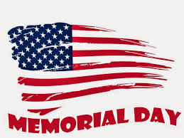Memorial Day Hours--Make a Note!